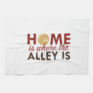 Home Is Where The Alley Is Hand Towel