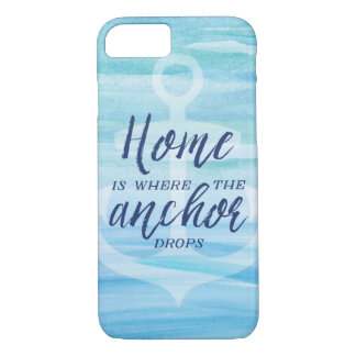 Home is Where the Anchor Drops iPhone 8/7 Case