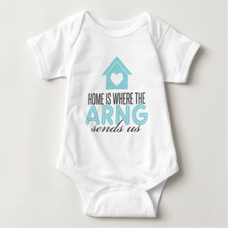 Home is Where the ARNG Sends Us Baby Bodysuit