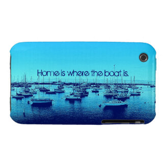 Home is Where the Boat Is iPhone 3 Cases