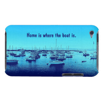 Home is Where the Boat Is iPod Case-Mate Case