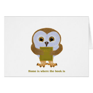 Home Is Where the Book Is Card