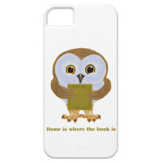 Home Is Where the Book Is iPhone 5/5S Covers