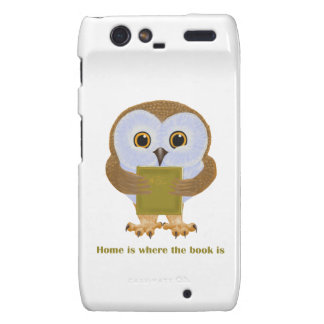 Home Is Where the Book Is Motorola Droid RAZR Cases