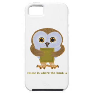 Home Is Where the Book Is iPhone 5 Cover