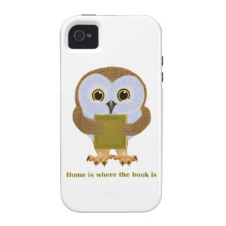 Home Is Where the Book Is Case-Mate iPhone 4 Case