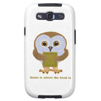 Home Is Where the Book Is Galaxy S3 Cover
