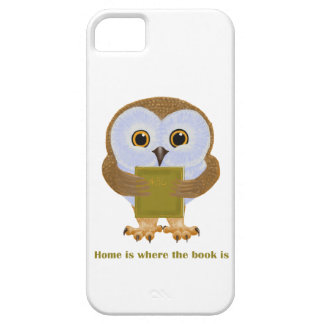 Home Is Where the Book Is iPhone SE/5/5s Case