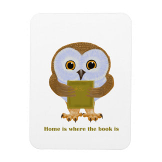 Home Is Where the Book Is Magnet