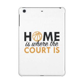 Home Is Where The Court Is iPad Mini Retina Case