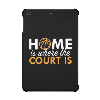 Home Is Where The Court Is iPad Mini Retina Cases