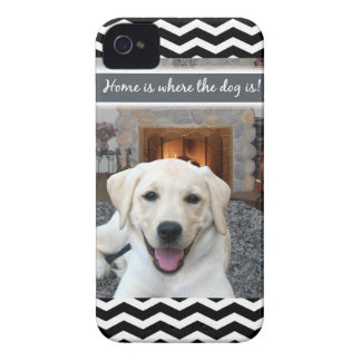 Home is where the dog is iPhone 4 Case-Mate cases