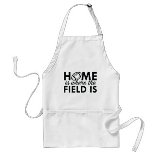Home Is Where The Field Is Adult Apron
