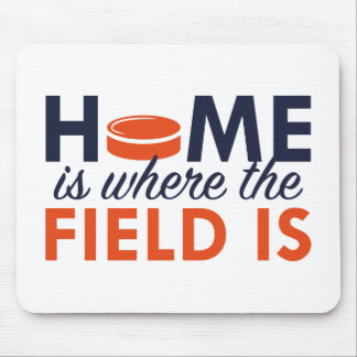 Home Is Where The Field Is Mouse Pad
