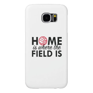 Home Is Where The Field Is Samsung Galaxy S6 Case