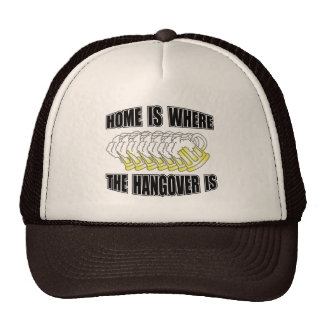 Home is Where the Hangover is Mesh Hat