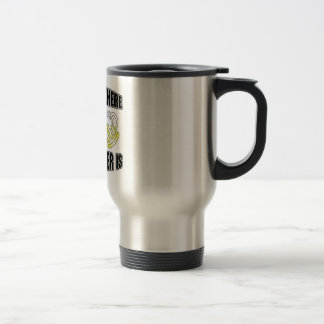 Home is Where the Hangover is! 15 Oz Stainless Steel Travel Mug
