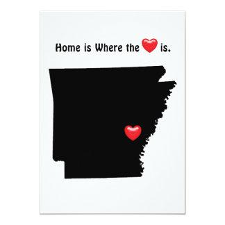 Home is Where the Heart ARKANSAS Card