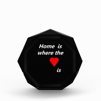 Home is where the heart is award