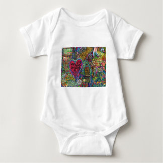 Home Is Where The Heart Is Baby Bodysuit