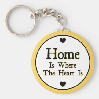 Home is Where the Heart is Keychain