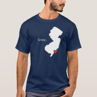 Home is where the heart is - New Jersey T-Shirt