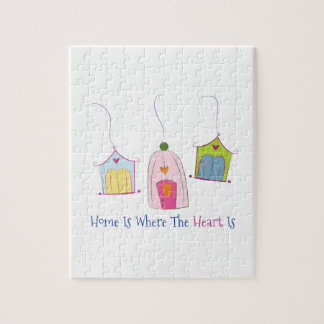 Home Is Where The Heart Is Jigsaw Puzzle