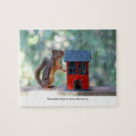 Home is Where the Heart Is Squirrel Puzzle