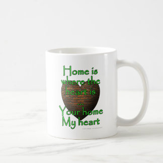 Home is where the heart is...Your home My heart Coffee Mug