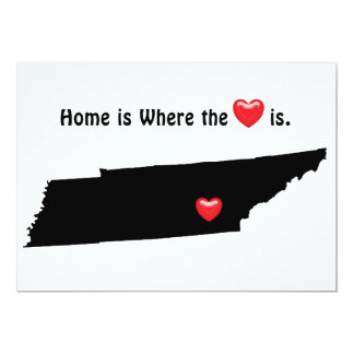 Home is Where the Heart TENNESSEE Card