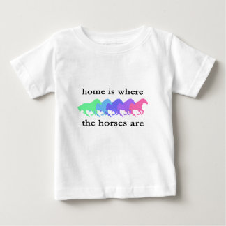 Home is where the horses are tshirt