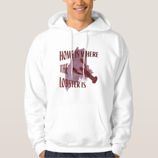 Home is Where the Lobster Is Hooded Pullover