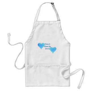 Home is Where the Love Is Adult Apron