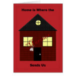 Home is Where the Marines Send Us Card