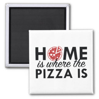 Home Is Where The Pizza Is Magnet