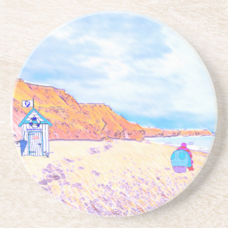 Home is where the Seaglass Is - Seaham England Drink Coaster