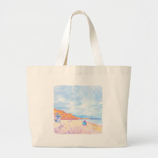 Home is where the Seaglass Is - Seaham England Large Tote Bag