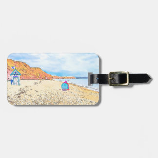 Home is where the Seaglass Is - Seaham England Luggage Tag