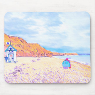 Home is where the Seaglass Is - Seaham England Mouse Pad