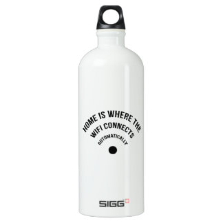Home Is Where The Wifi Connects Automatically SIGG Traveler 1.0L Water Bottle