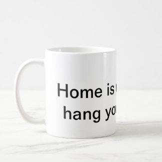 home is where you hang your broom mug