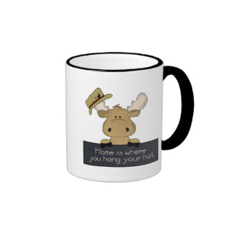 Home is where you hang your hat Camper coffee mug