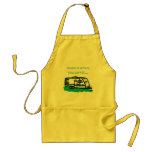 Home is where you park it. adult apron