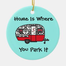 Home is Where You Park It Ornament
