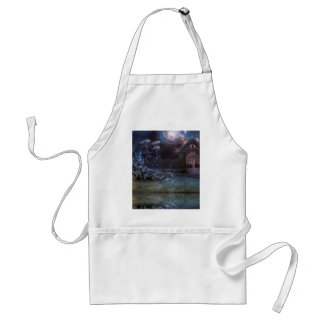 Home is where you plows adult apron