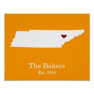 Home is Where Your Heart Is - Tennessee Poster