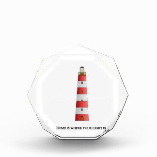 Home Is Where Your Light Is Acrylic Award