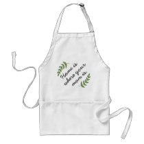 Home is where your mom is mother's day gift modern adult apron