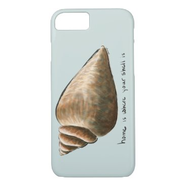 Beach Themed Home Is Where Your Shell Is Phone/Tablet Case