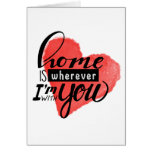 Home is Wherever | Heart Card